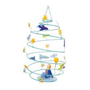 L'oiseau bateau - SPI0010 - Mobile Les Spirales Garçon aux étoiles (312866)