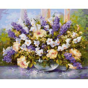 Schipper - 609130717 - Peinture aux numeros - Fleurs d'été 40 x 50 cm (312908)