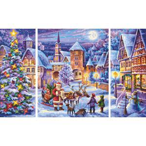 Schipper - 609260730 - Peinture aux numeros - Noel blanc 50 x 80 cm (312914)