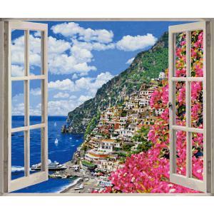 Schipper - 609360724 - Peinture aux numeros - Positano sur la cote amalfitaine 50 x 60 cm (312920)