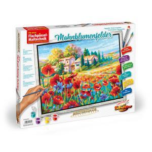 Schipper - 609430727 - Peinture aux numeros - champs de coquelicots 40 x 50 cm (312924)