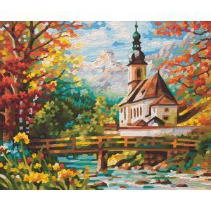 Schipper - 609430729 - Peinture aux numéros - St Sebastian à Ramsau (312926)