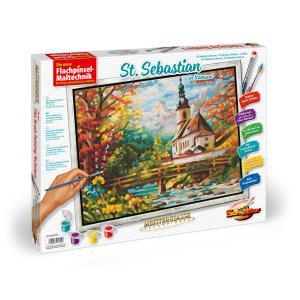 Schipper - 609430729 - Peinture aux numeros - St Sebastian a Ramsau 40 x 50 cm (312926)