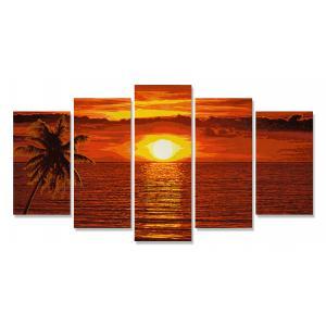 Schipper - 609450728 - Peinture aux numéros - Coucher de soleil aux Caraïbes (312932)