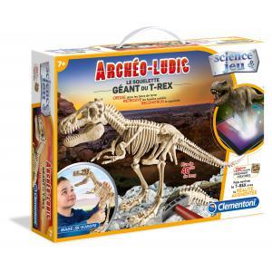 Clementoni - 52157 - Archéo Ludic - Le squelette géant du T-rex (313370)