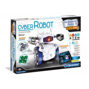 Clementoni - 52182 - Jeux de robotique Mon Cyber Robot (313428)