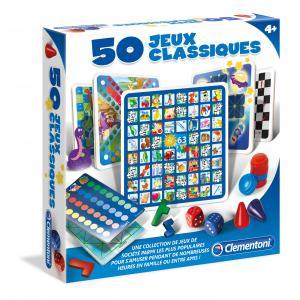 Clementoni - 52165 - 50 jeux classiques (313432)