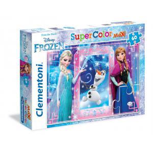 Clementoni - 26411 - Puzzles maxi 60 pièces - La Reine des Neiges (313598)