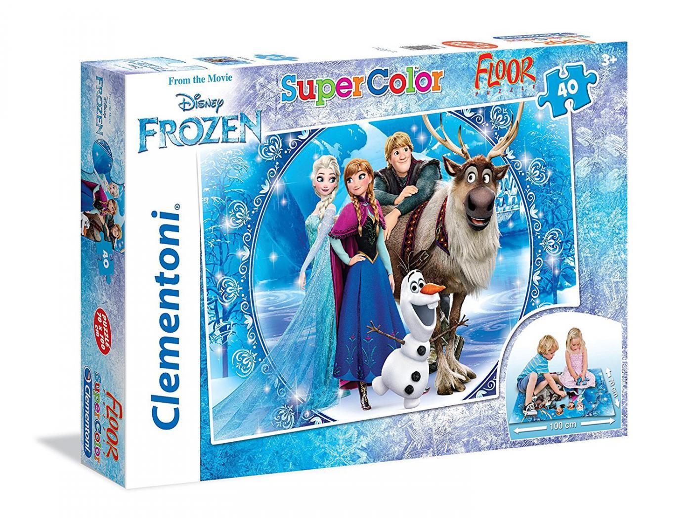 clementoni puzzles 40 pi ces la reine des neiges. Black Bedroom Furniture Sets. Home Design Ideas