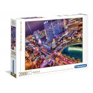 Clementoni - 32555 - Puzzles 2000 Pièces - Las Vegas  (Ax1) (314440)
