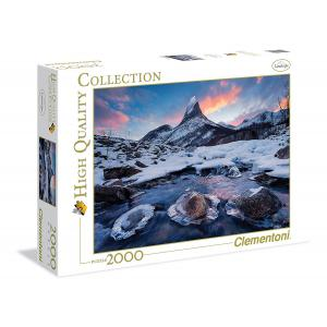 Clementoni - 32556 - Puzzles 2000 Pièces - The Throne - Norway (314442)