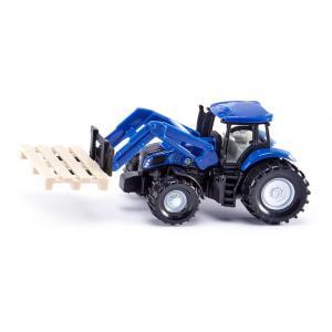 Siku - 1487 - Tracteur avec fourche à palette et palette (314544)