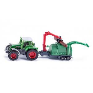 Siku - 1675 - Tracteur avec broyeur de branches (314552)