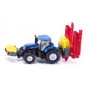 Siku - 1799 - New Holland Tracteur avec épandeur Kverneland (314600)