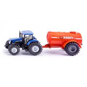 Siku - 1945 - Tracteur avec reservoir de lisier 1 essieu - 1:50ème (314604)