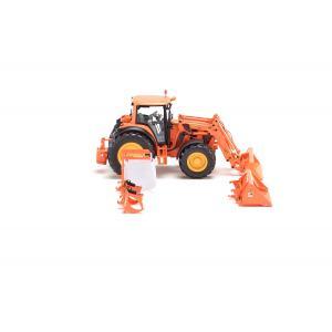 Wiking - 7342 - John Deere 7430 municipal avec chargeur frontal et outils - 1:32ème (314636)