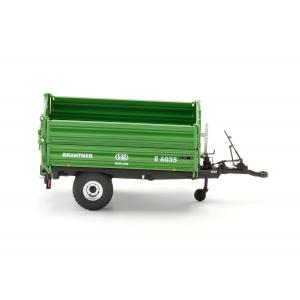 Wiking - 7348 - Brantner E 6035 - single-axle threeside tipper - 1:32ème (314648)