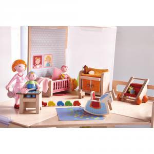 Haba - 301989 - Little Friends – Meubles pour maison de poupée Chambre d'enfant (315606)