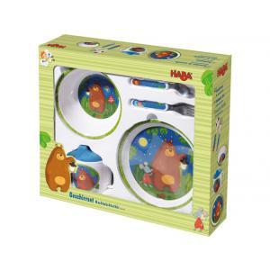 Haba - 302129 - Ensemble de vaisselle Bonne nuit petit ourson ! (315750)