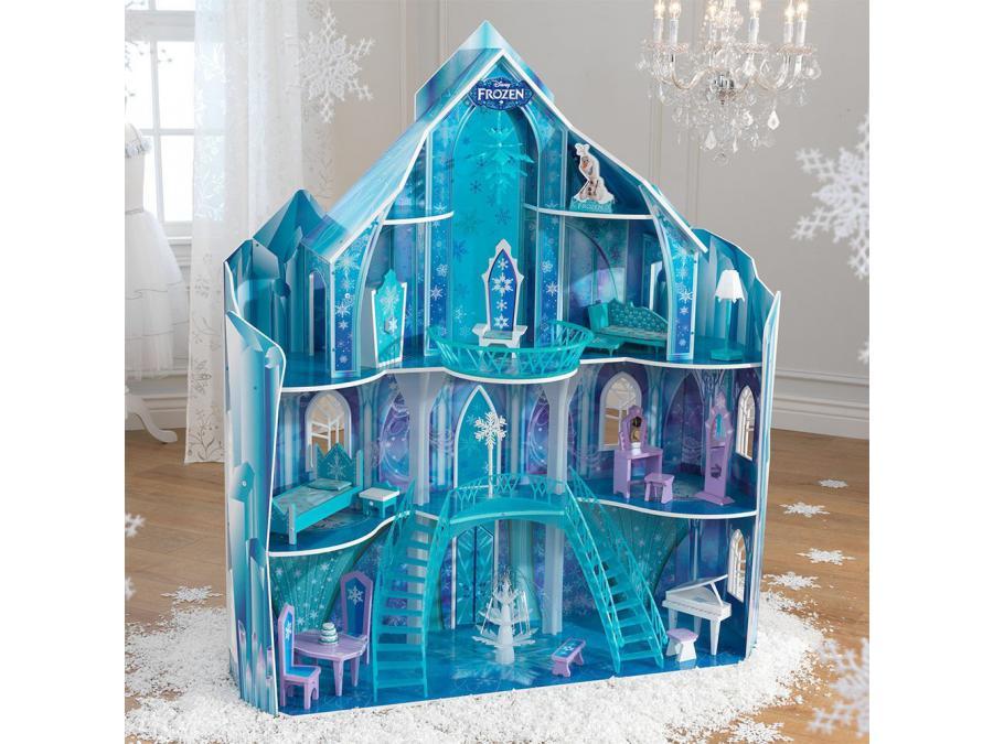 kidkraft maison de poup es snowflake disney la reine. Black Bedroom Furniture Sets. Home Design Ideas