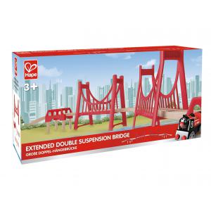 Hape - E3710 - Double pont suspendu (318658)
