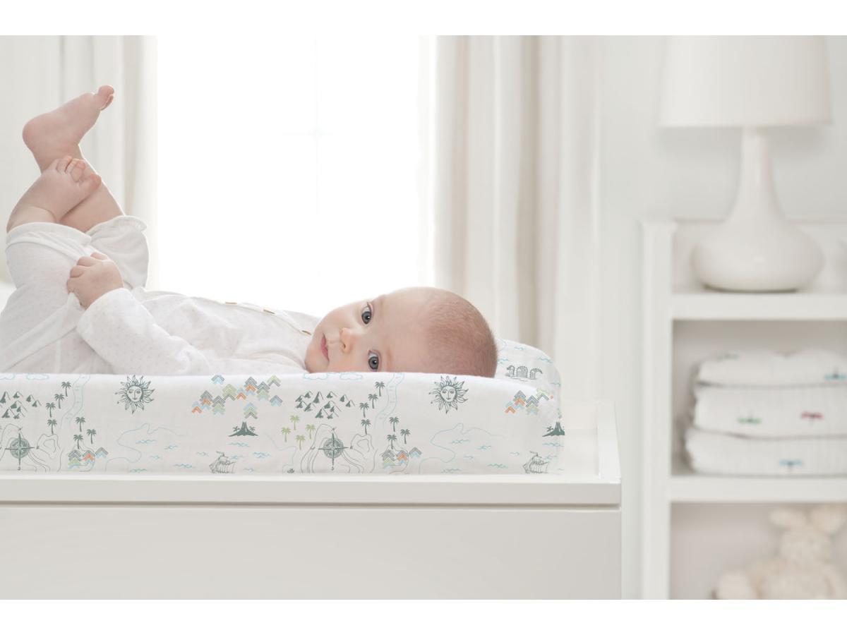 aden and anais drap housse de matelas a langer bio. Black Bedroom Furniture Sets. Home Design Ideas