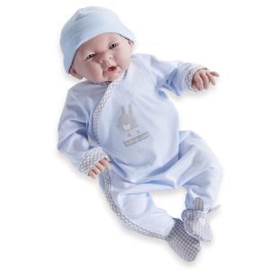 Berenguer / JC Toys - 263 - Poupon tenue motif lapin couleur bleu et gris Tutto Piccolo® (320714)
