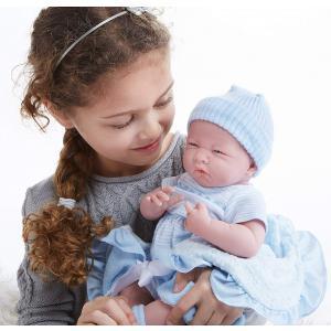 Berenguer - 18787 - Poupon Newborn nouveau né avec accesoires bleus 39 cm (320738)
