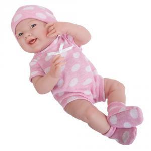 Berenguer - 18512 - Poupon Newborn nouveau né sourieur sexué fille 38 cm (320756)