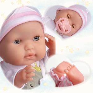 Berenguer - 30040 - Poupon Soft Body tenue rose yeux ouverts/fermés (320772)
