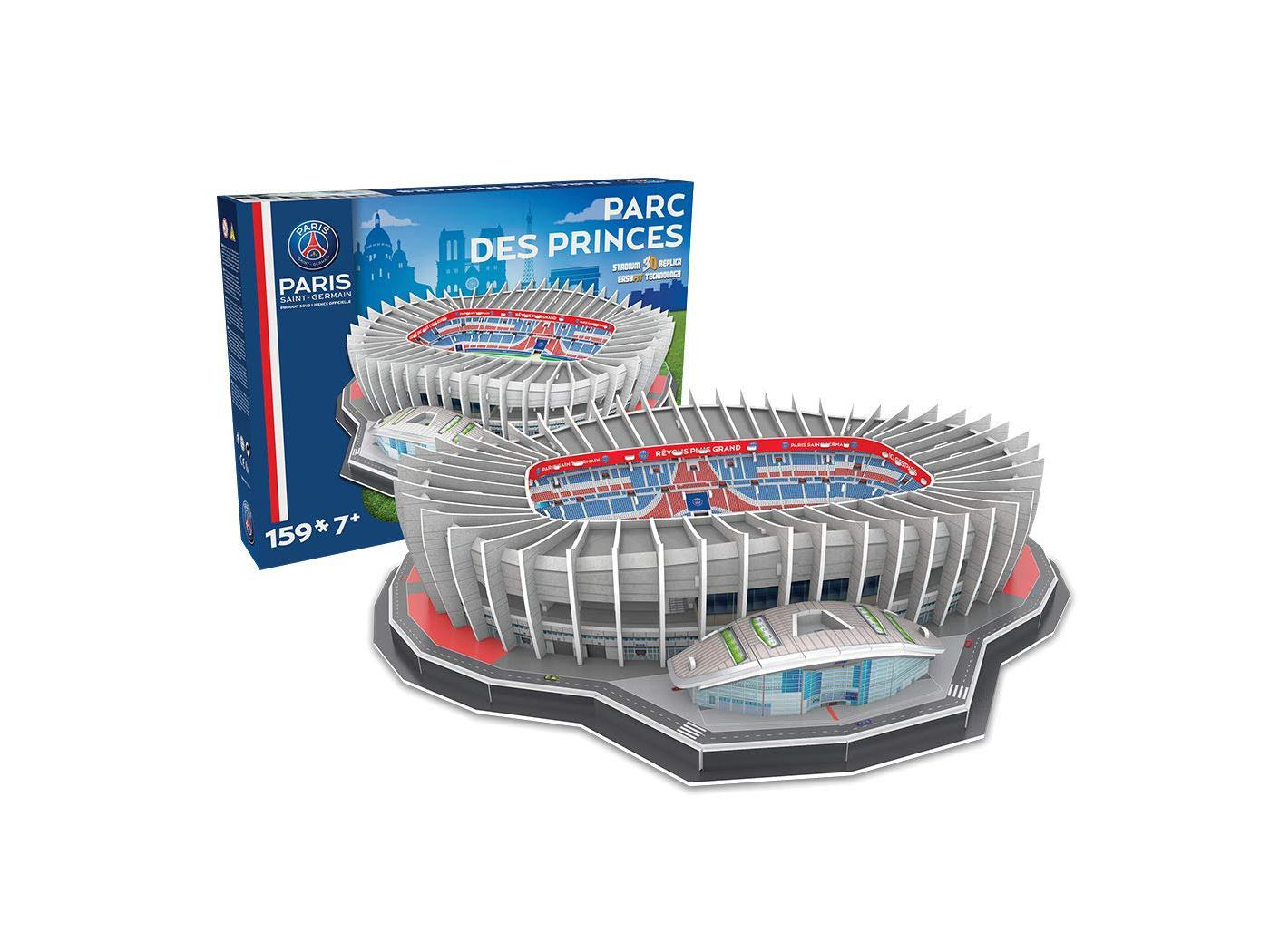 megableu editions puzzle 3d parc des princes psg. Black Bedroom Furniture Sets. Home Design Ideas