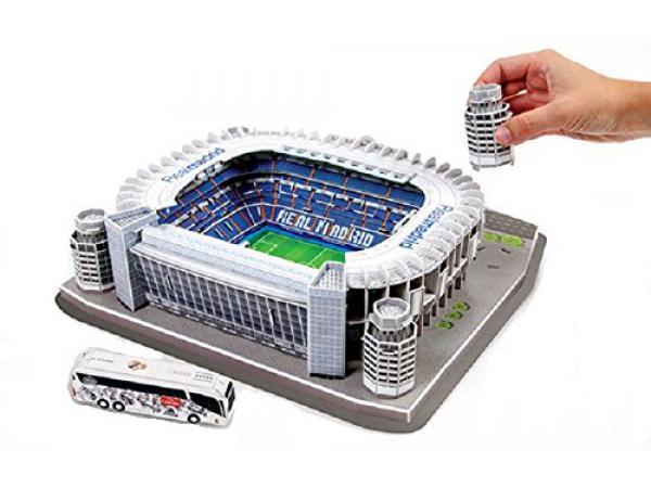 Megableu Editions Puzzle 3d Santiago Bernabeu Real Madrid