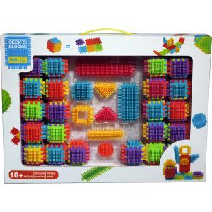 Seek'o Block - BA4005 - Combo Cubes et blocks 140 pièces (321202)