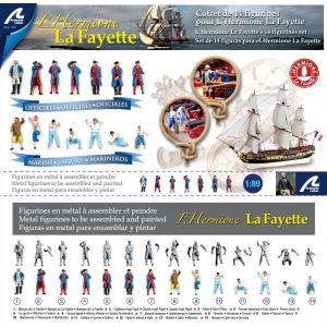 Artesania - 22517F  - Figurines de l'Hermione (321392)