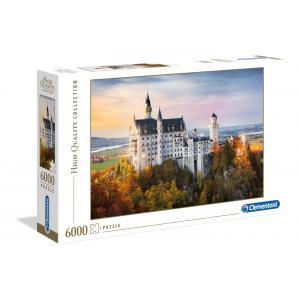 Clementoni - 36522 - Puzzles high quality collection 6000 pièces - Neuschwanstein (321432)