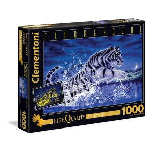 Clementoni - 39354 - Puzzle The power of the tiger 1000 pièces (A3) (321454)
