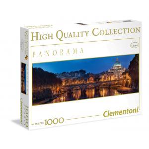 Clementoni - 39343 - Puzzle Panorama Rome 1000 pièces (321492)
