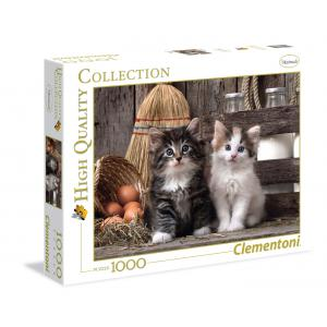 Clementoni - 39340 - Puzzle Lovely Kittens 1000 pièces (A2x1) (321500)