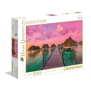 Clementoni - 35016 - Puzzles 500 Pièces - Colorful paradise (321540)