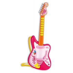 Bontempi - GE6871 - Guitare electronique avec lumière I Girl (325212)
