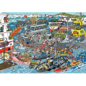 Jumbo - 619012 - Puzzle 500 pièces JVH - Port Dock (325684)