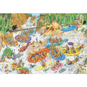 Diset - 19017 - Puzzle 3000 pièces - JVH-Rafting extrême (325700)