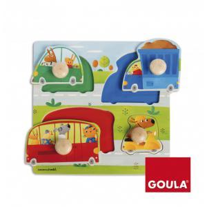 Goula - 53006 - Jeu d'encastrement Véhicules (325734)