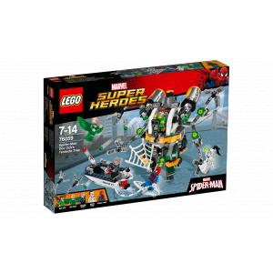 Lego - 76059 - Spider-Man : le piège à tentacules de Doc Ock (325896)