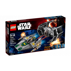 Lego - 75150 - Le TIE Advanced de Dark Vador contre l'A-Wing Starfighter (326042)