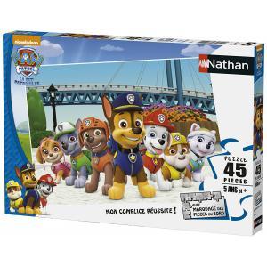 Nathan puzzles - 86463 - Puzzle 45 pièces - Prêts à intervenir / Pat'Patrouille (327798)