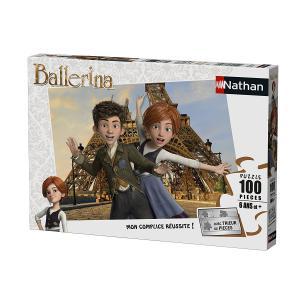 Nathan puzzles - 86740 - Puzzle 100 pièces - Félicie et Victor à Paris / Ballerina (327818)
