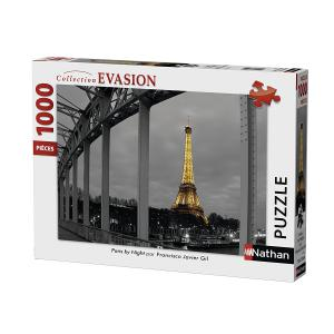 Nathan puzzles - 87469 - Puzzle 1000 pièces - Paris by night (327832)