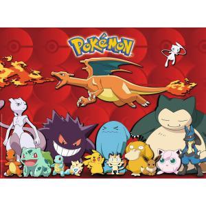 Pokemon - 10934 - Puzzle 100 pièces XXL - Mes Pokémon préférés (327834)