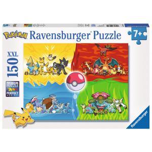 Ravensburger - 10035 - Puzzle 150 pièces XXL - Les différents types de Pokémon (327836)
